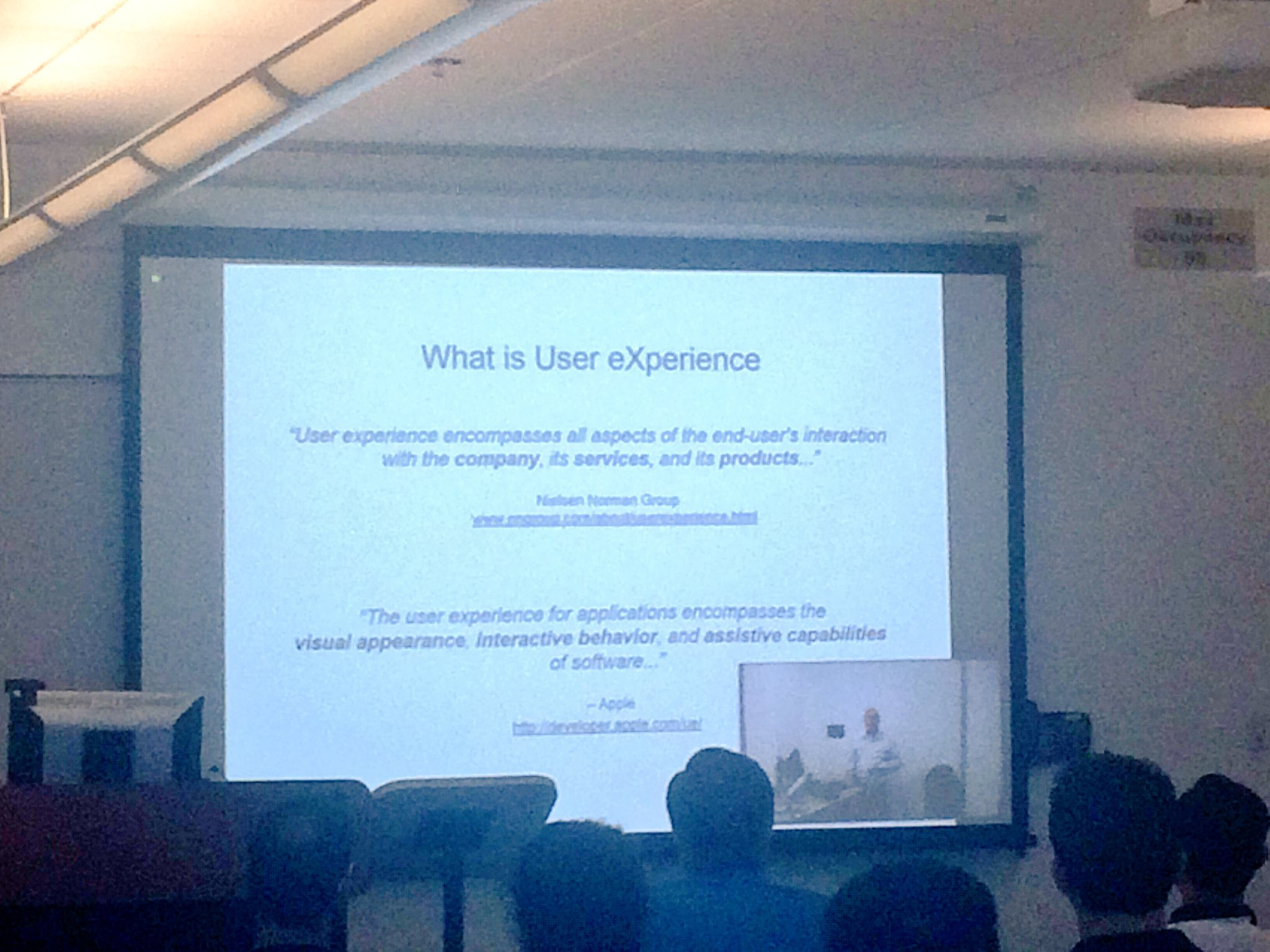 What is User eXperience? As first defined by Apple...#SoCalUXCamp https://t.co/6QPf9sT008