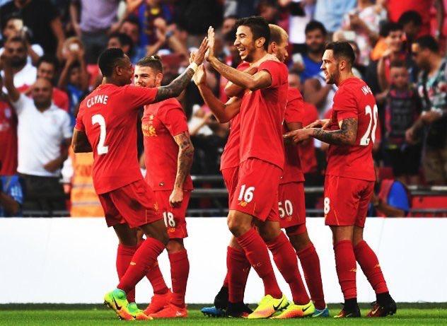 Lances de Liverpool 4x0 Barcelona - Amistosos 16-17