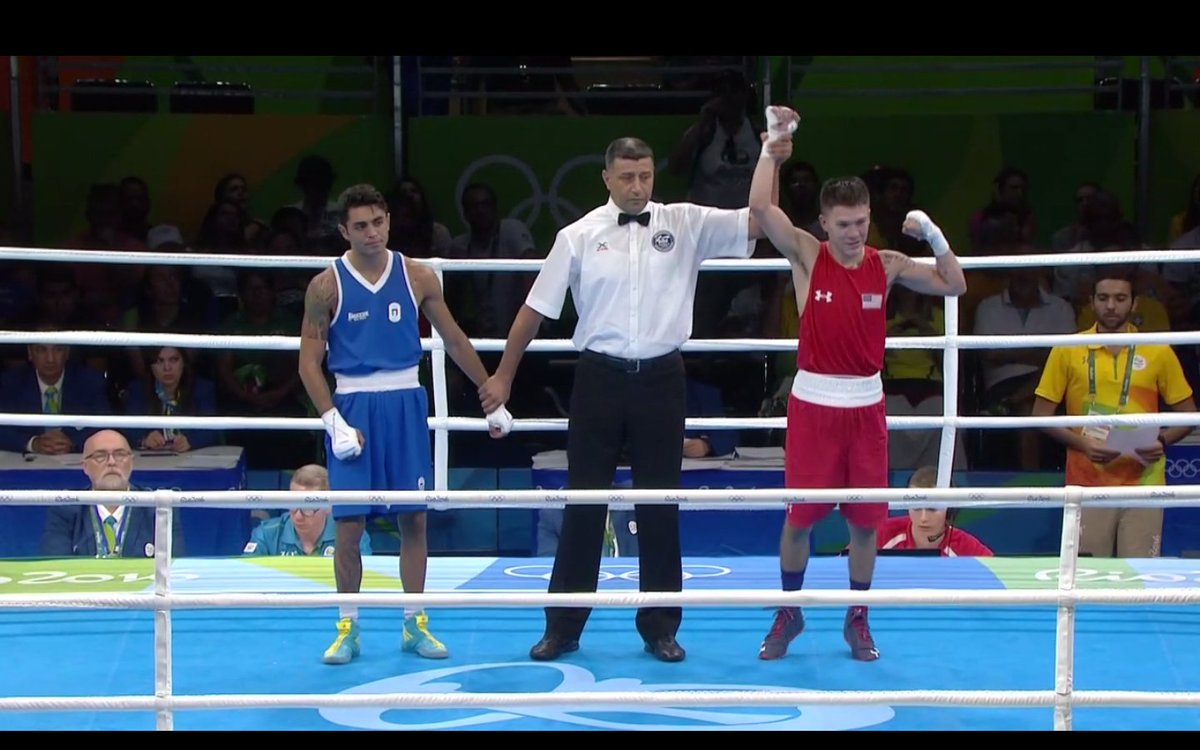 #TeamUSA goes two for two with a WIN by Nico Hernandez!