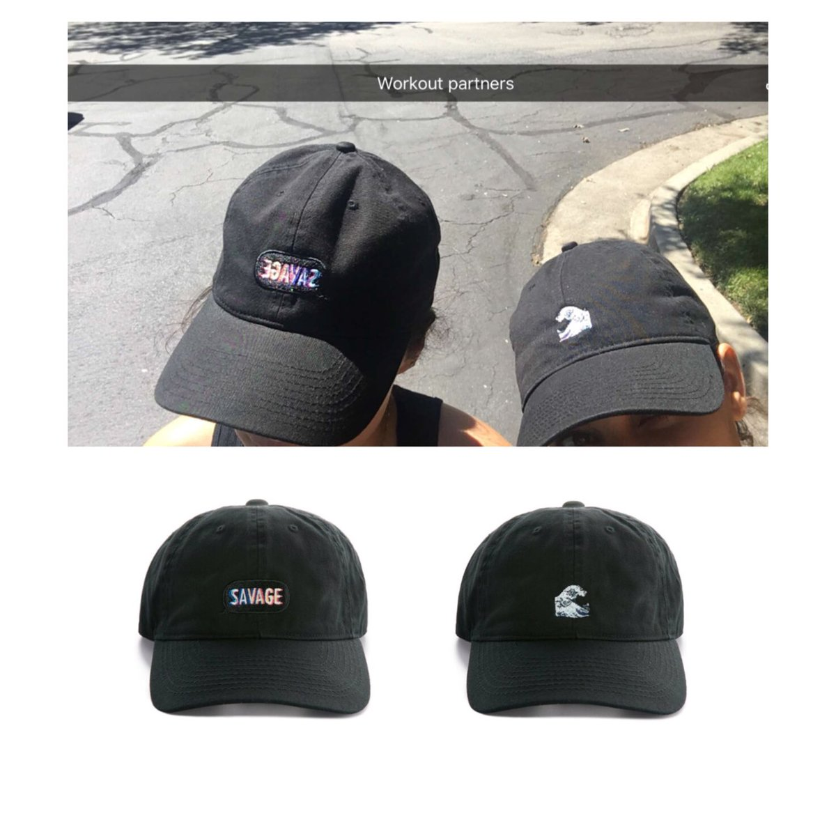 9619ae6f2b3  steph shep    KimKardashian wearing their  KimojiMerch dad caps today. Now  available on https   t.co Qqdt4Cn7lT htt…
