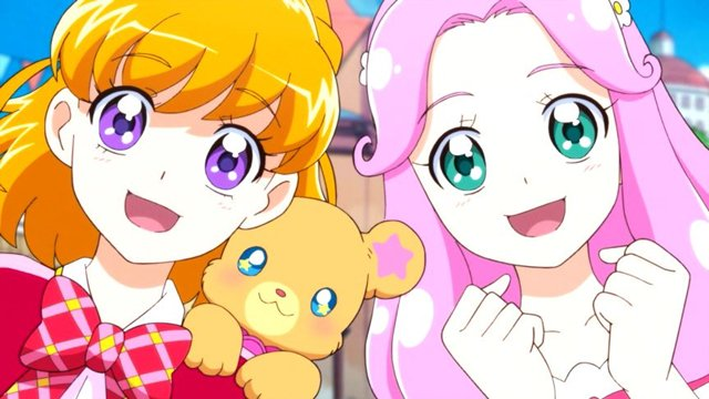 ハモったニャッ #precure https://t.co/mfIJBx4RBE