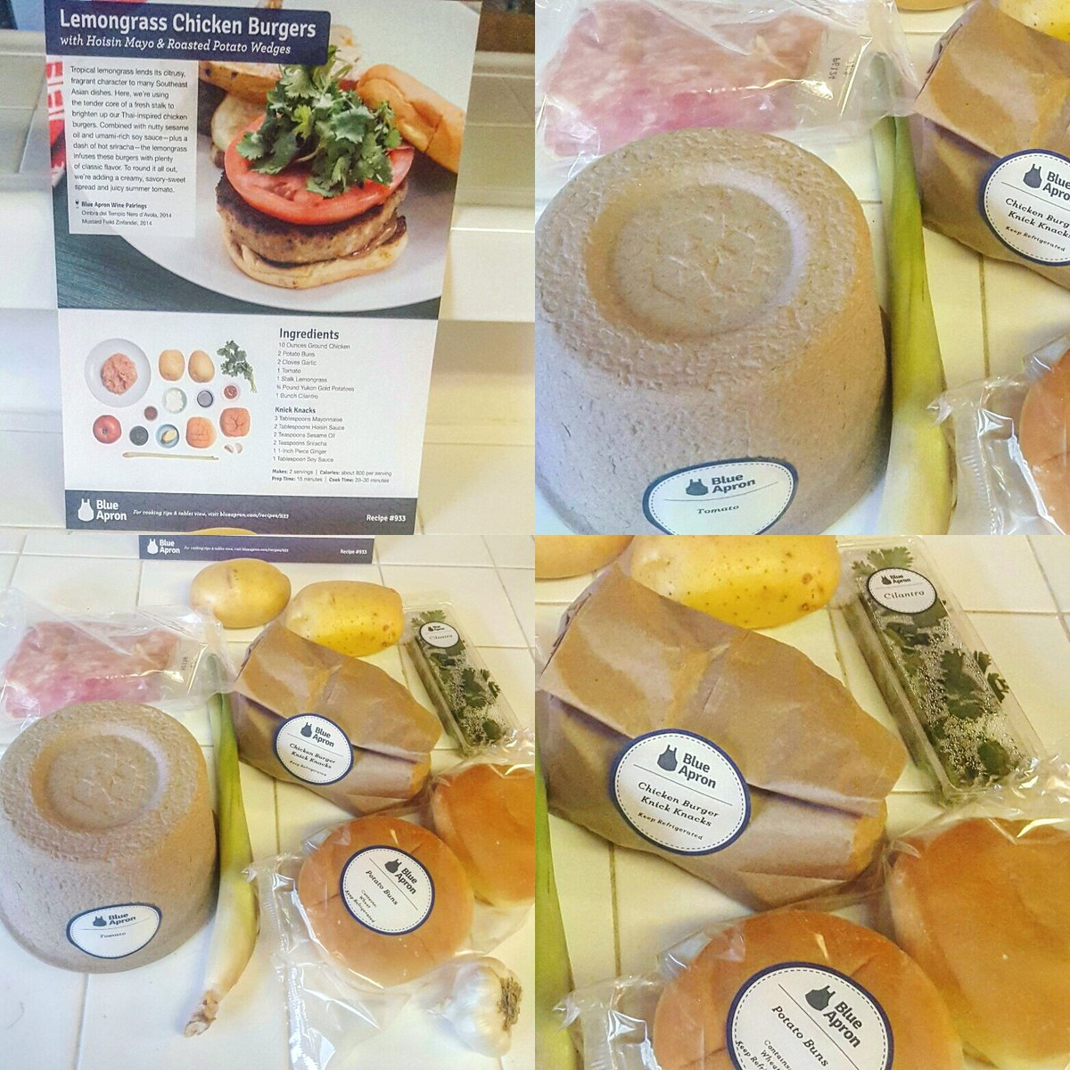 Blue apron lemongrass