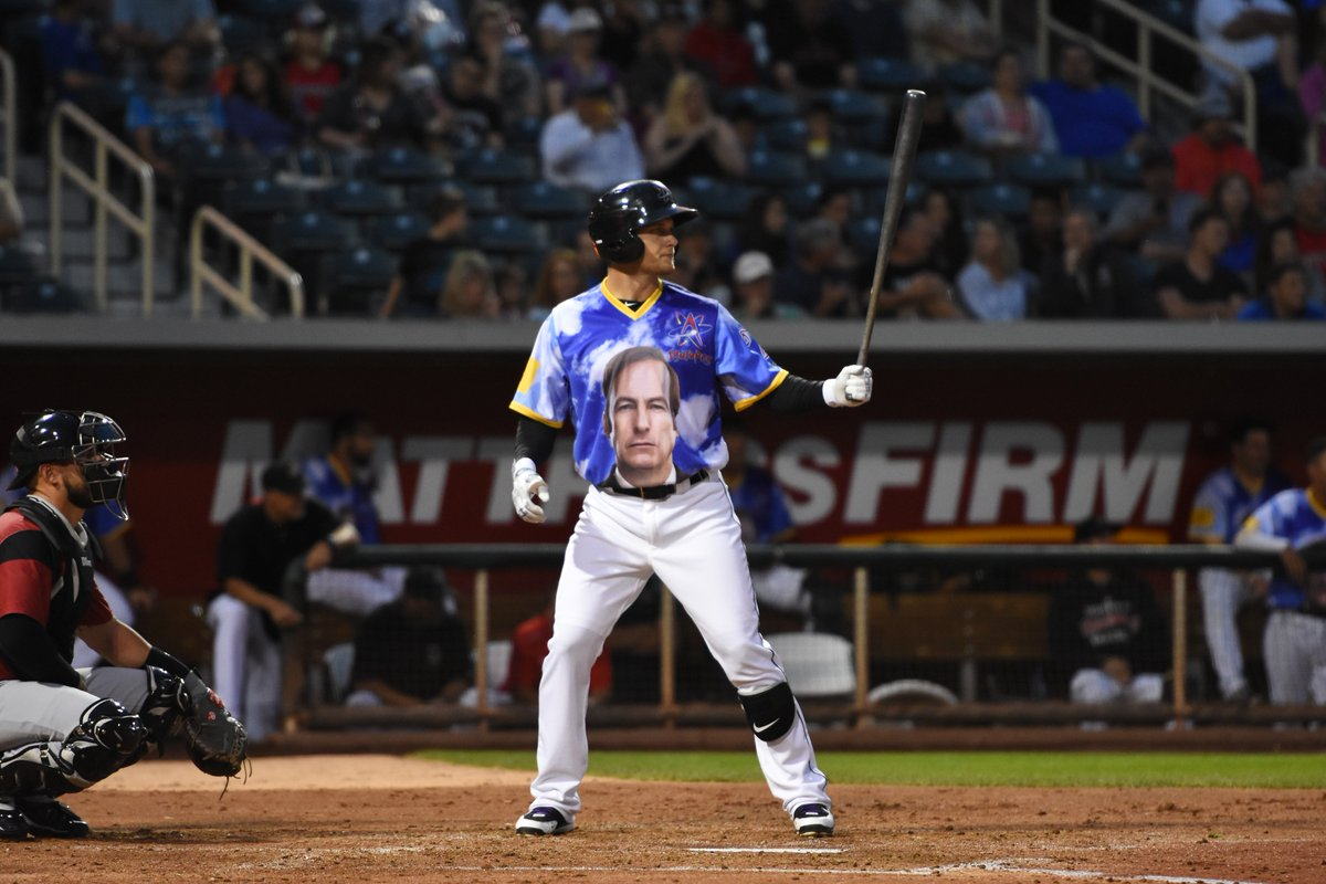 """albuquerque isotopes host """"better call saul"""" night with appearance"""