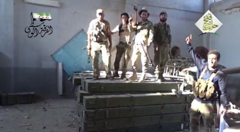 Syrian Civil War: News #9 - Page 4 CpP8r5vWcAA1yYS