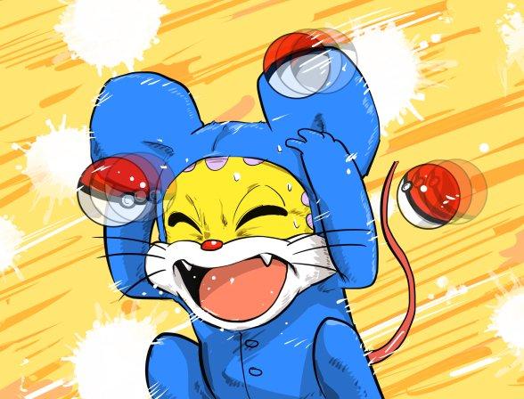 「お゛ぉ゛ぉ゛お゛ん!!!ミーはポケモンじゃないに゛ゃあ゛あ゛ん!!!」 pic.twitter.com/8R4rXNROSz