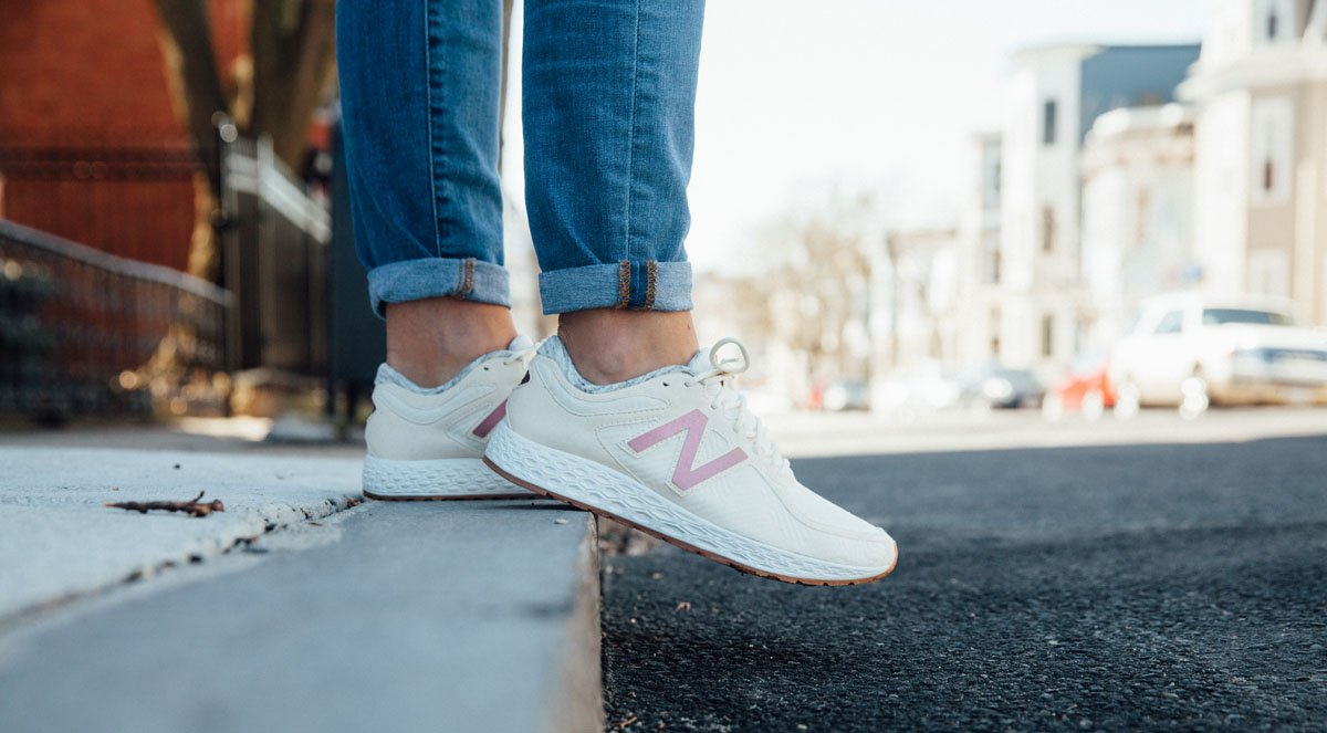 new balance rose gold fresh foam