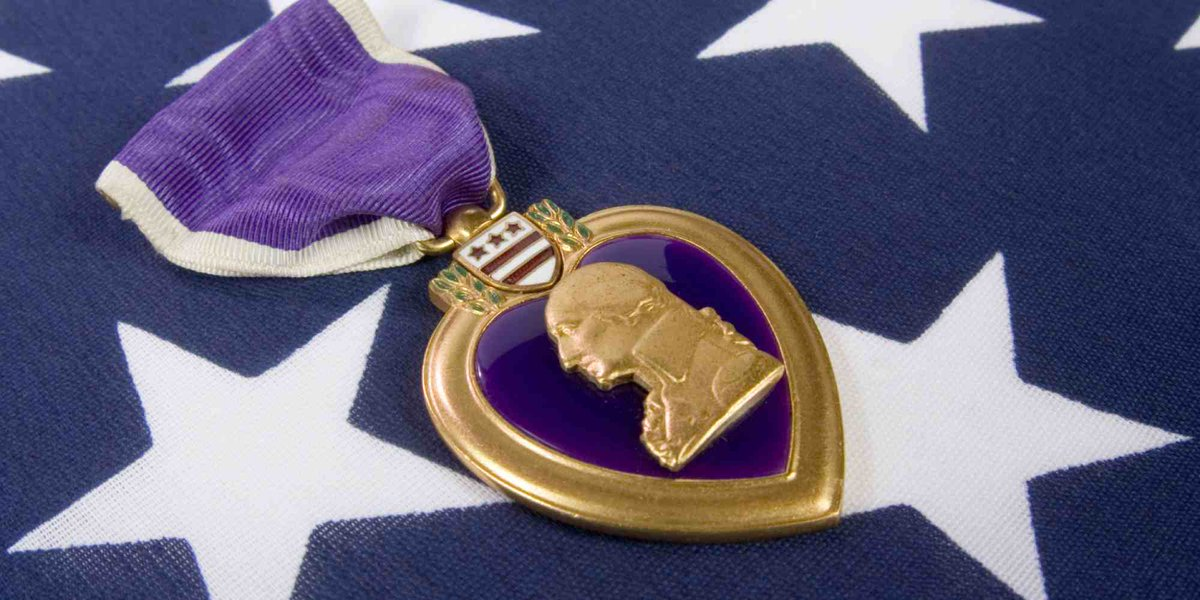 Honoring and acknowledging those killed or wounded in combat this #PurpleHeartDay. Thank you will never be enough. https://t.co/4vuAHhKX40