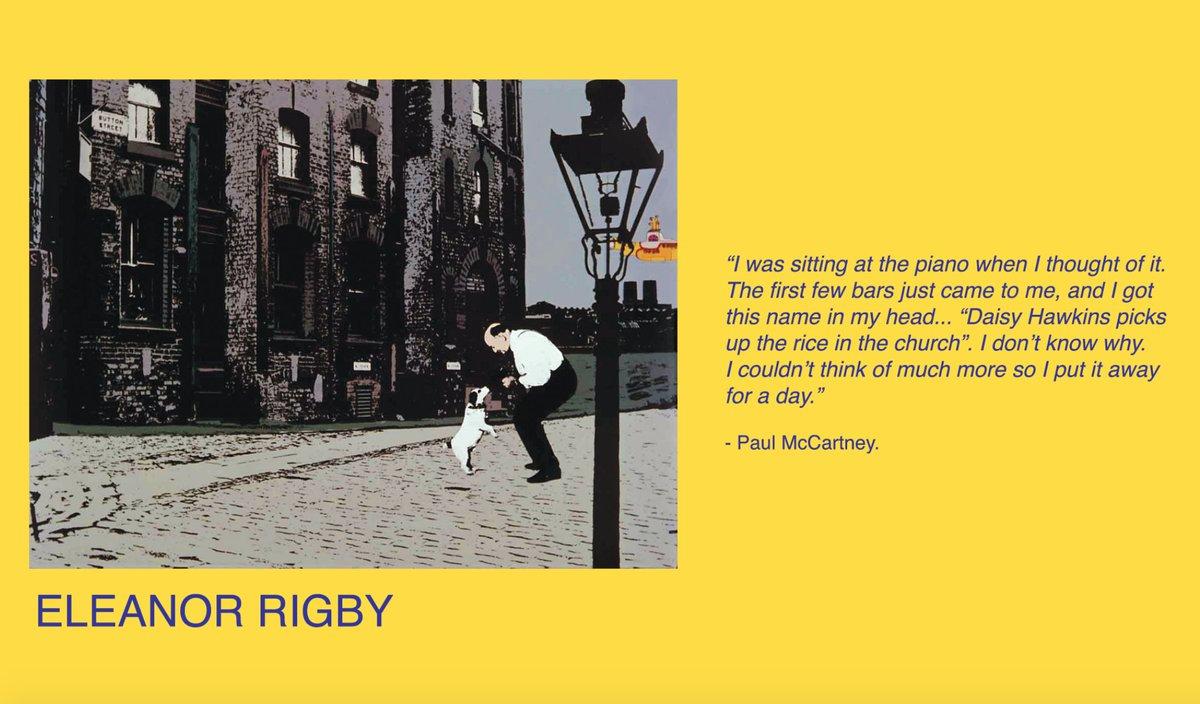 eleanor rigby literary analysis essay