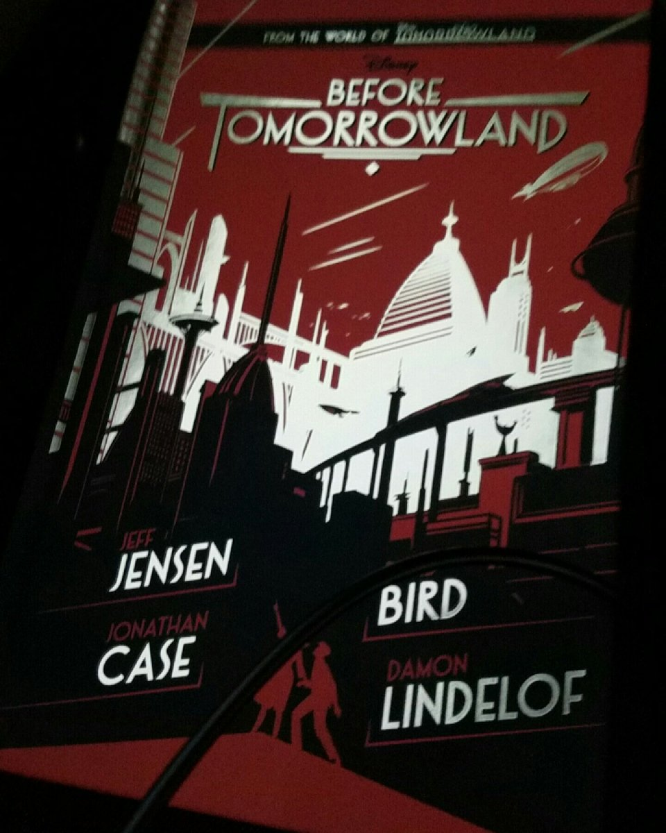 "Started ""Before Tomorrowland"" yesterday! #Disney #BeforeTomorrowland #Snapchat… https://www.instagram.com/p/BIz9xKGjqon/pic.twitter.com/iXfPPJ6u7W"