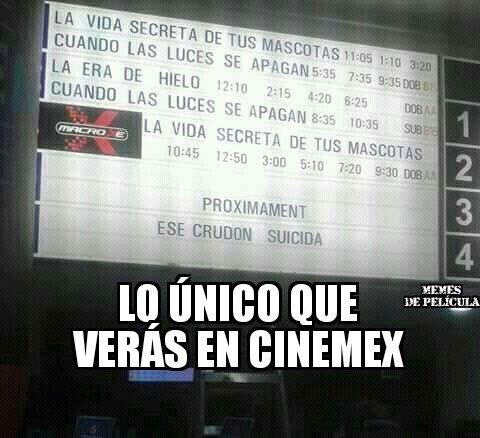 Memes De Película At Memespelicula Twitter