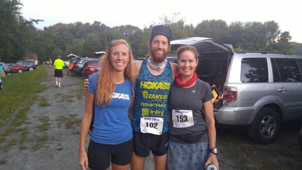 @mikewardian @RunFARC @SumluckR @amylrace @HOKAONEONE Mike wins DHTR 50k in King George VA. fastest trail 50k!<br>http://pic.twitter.com/zJnFKkVk3s