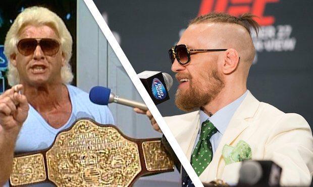 Post image of Конор Макгрегор устроил перепалку с рестлерами WWE