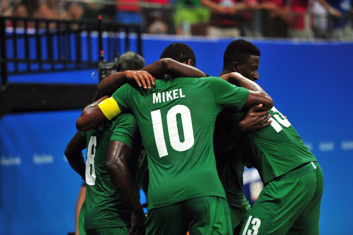 CONFIRMED: #NGR are through to #Olympics #football quarter-finals! Congratulations Nigeria! #Rio2016