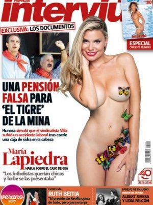 María Lapiedra Interviú María Lapiedra Desnuda Portada Interviú