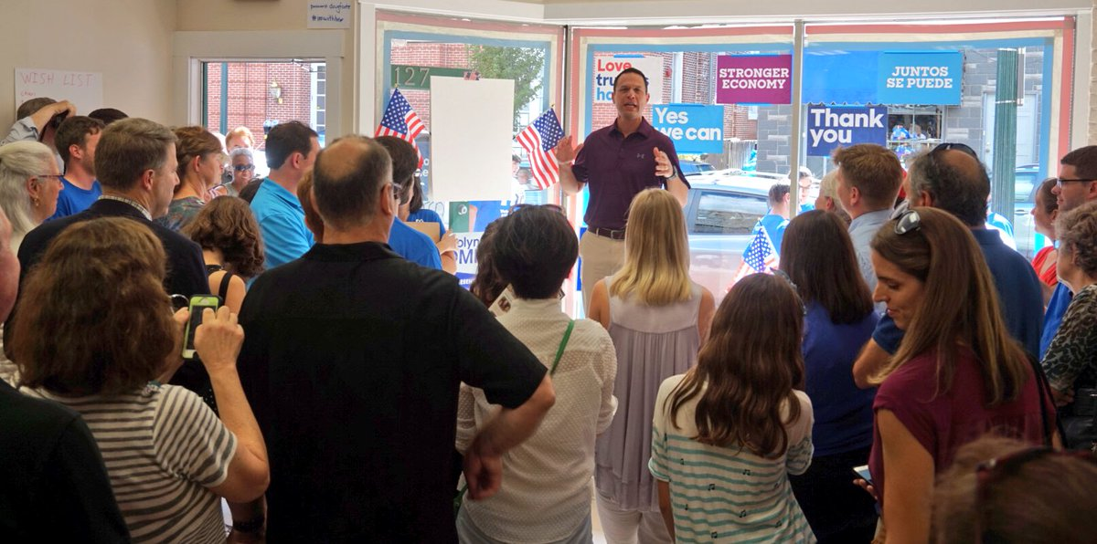 Big crowd in West Chester to open up our Democratic HQ and help get out the vote in this critically important area. https://t.co/G3CQ5J1sYX