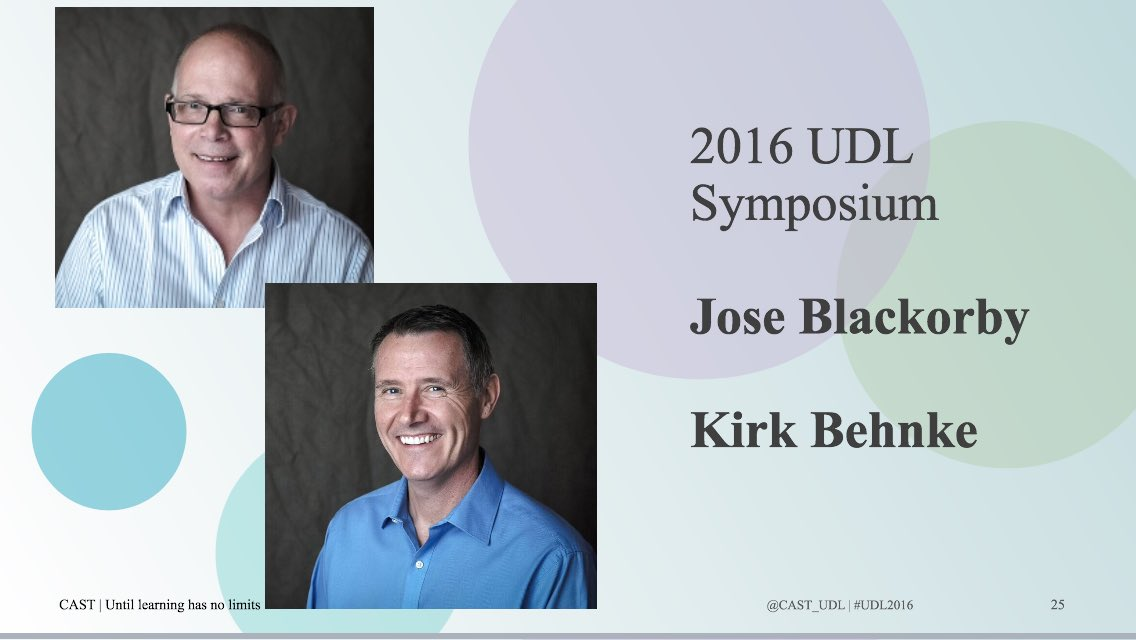 #UDL2016 See you tomorrow for the CAST UDL Symposium. (Insider info) Jose and I are kickin' it off Star Trek style https://t.co/tntdIB9fvg
