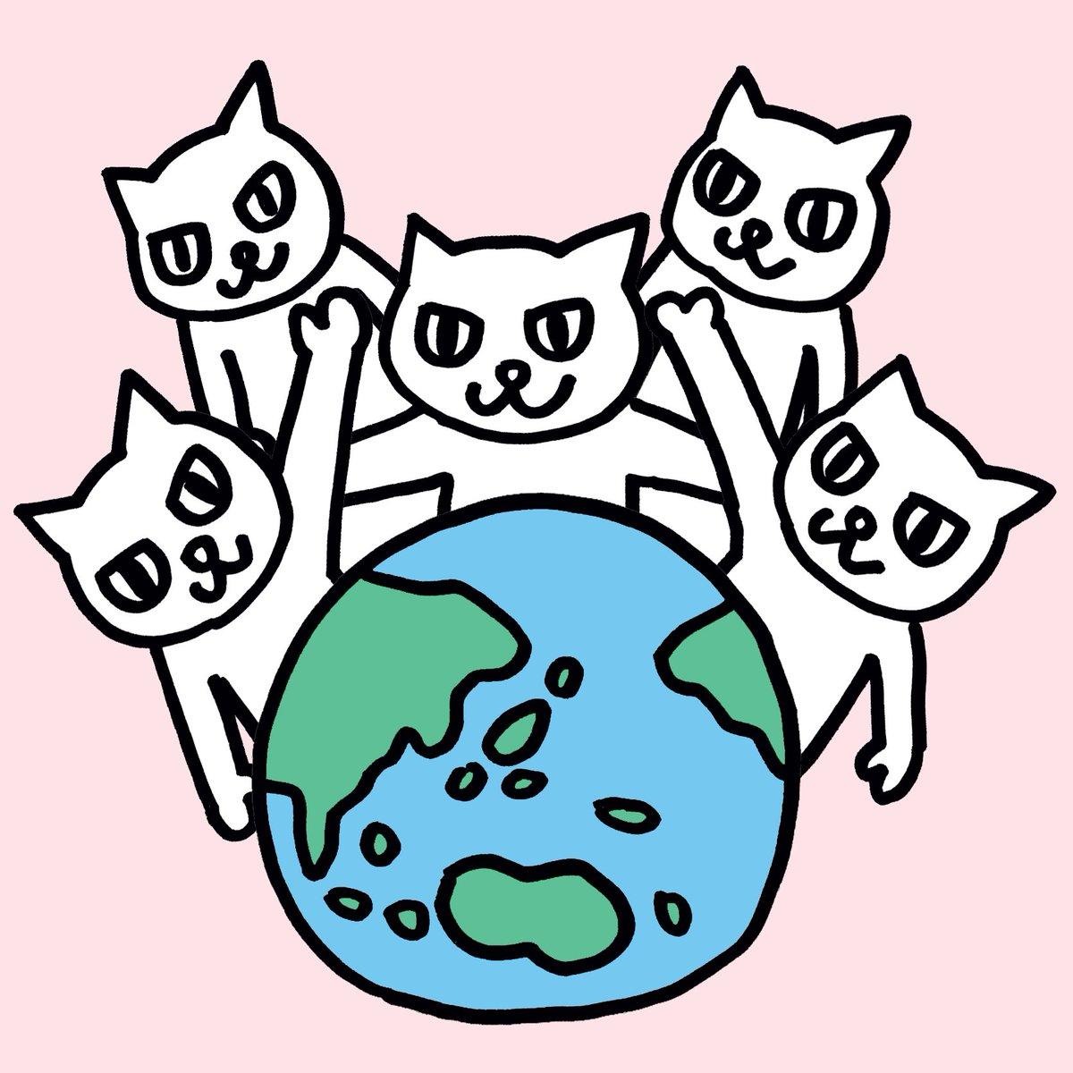 8月8日は #世界猫の日 https://t.co/mJSnrfg6CI