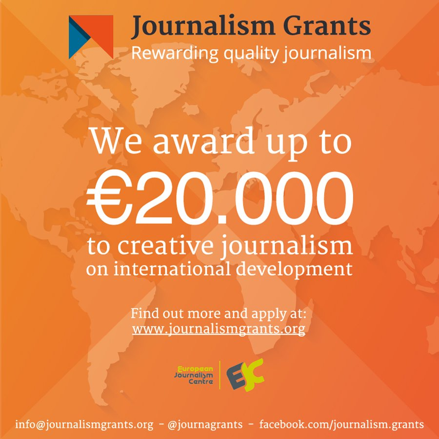Last call for 2016! Apply to produce innovative storytelling w/ @journagrants DL 7 Sept: https://t.co/ufB4D3cIZW https://t.co/JZwcMm5IVT