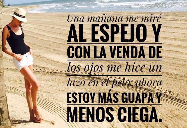 Mañana Miré Espejo Frases Quotes Felizsemana Nieves
