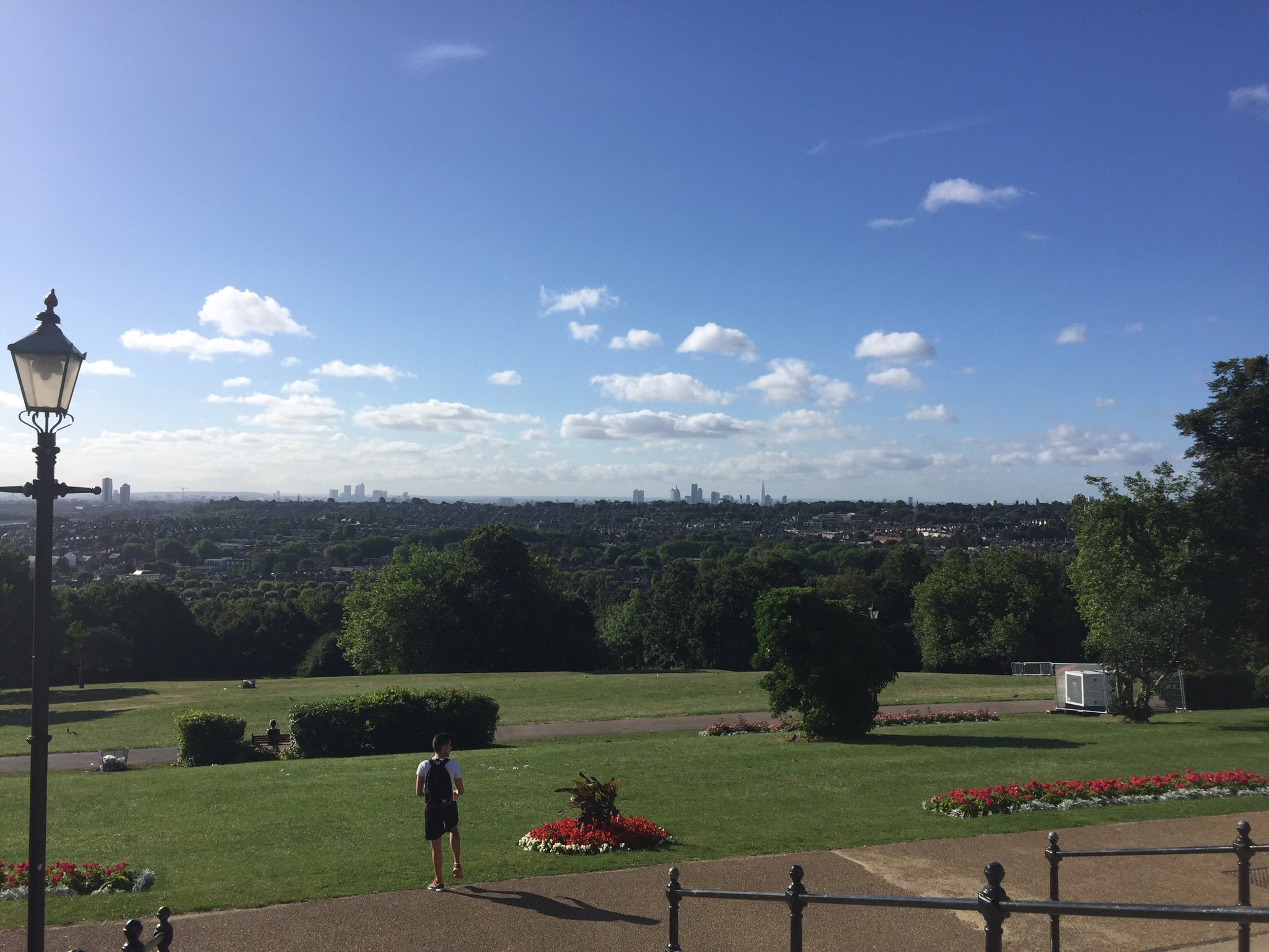 Today's hike/run ... Music by Macklemore... Views by North London's Alexandra Palace https://t.co/K6RWyKEiSD