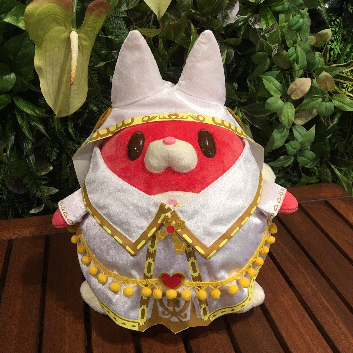 【白猫】星たぬきぬいぐるみ用の着せ替え衣装が開発中!ミラ様とポンちゃんデザインの写真が公開!【プロジェクト】