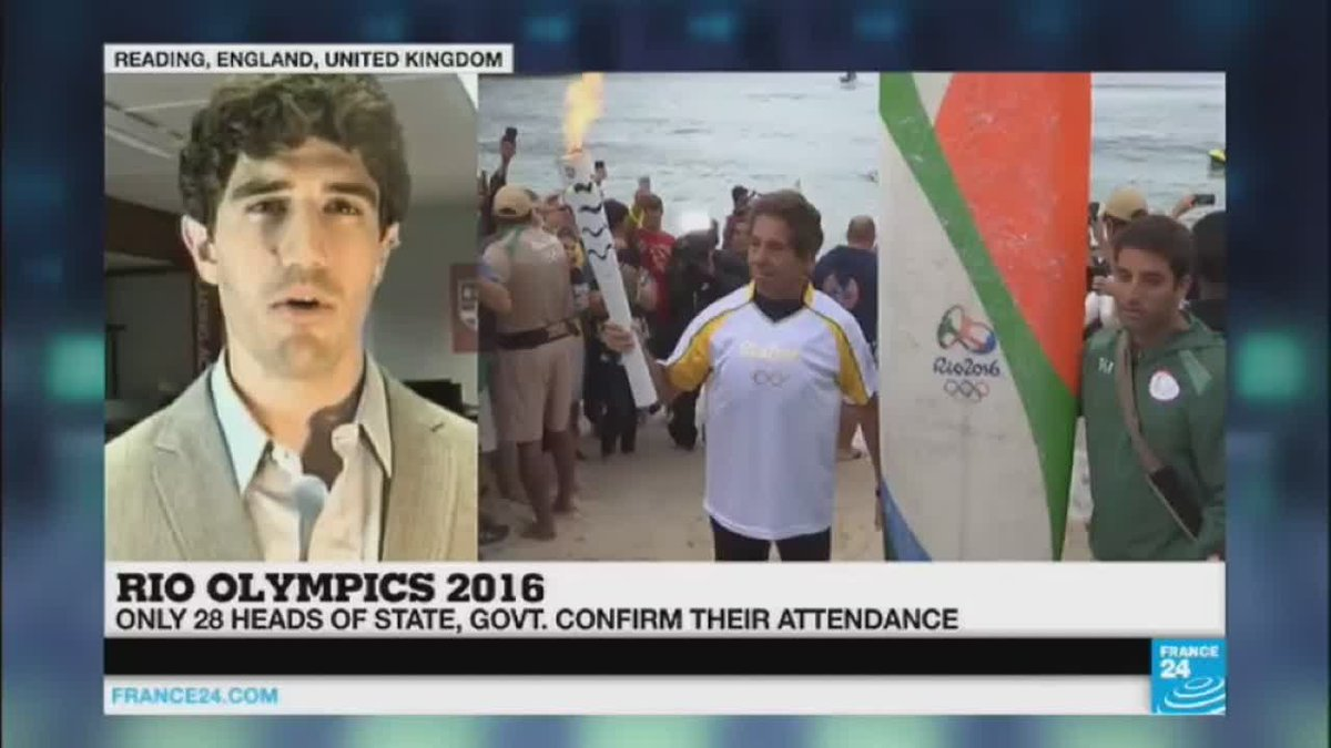 VIDEO -  Rio 2016: only 28 heads of State confirmed their presence to the Olympic Games