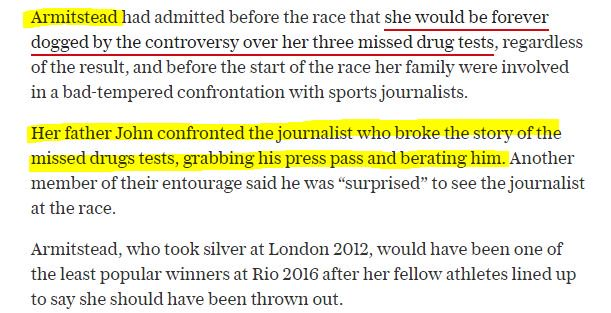 Wow @L_ArmiTstead's dad attacked journo whoreported her Whereabouts skullduggery! https://t.co/darmcsDnUw @Vaughters https://t.co/wcdOhq2KQU