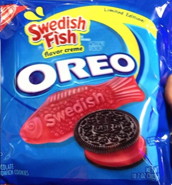 Swedish fish oreo latest news breaking headlines and top for Swedish fish oreos