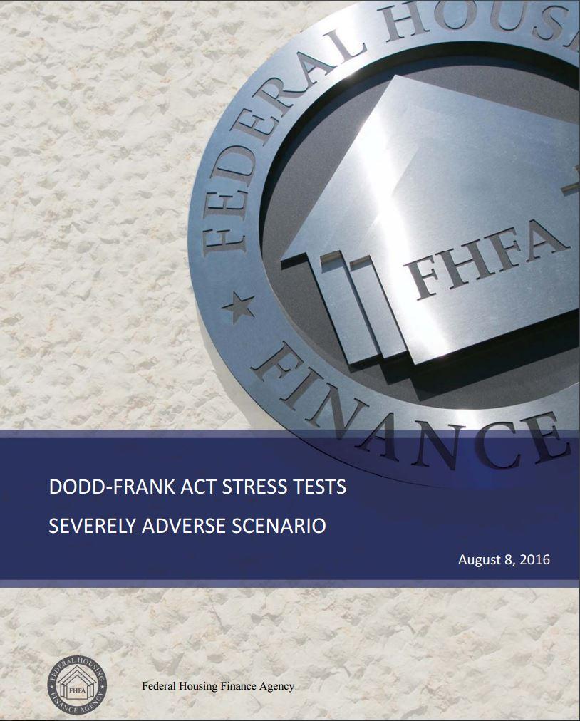 Stress Test Dodd Frank: FHFA (@FHFA)