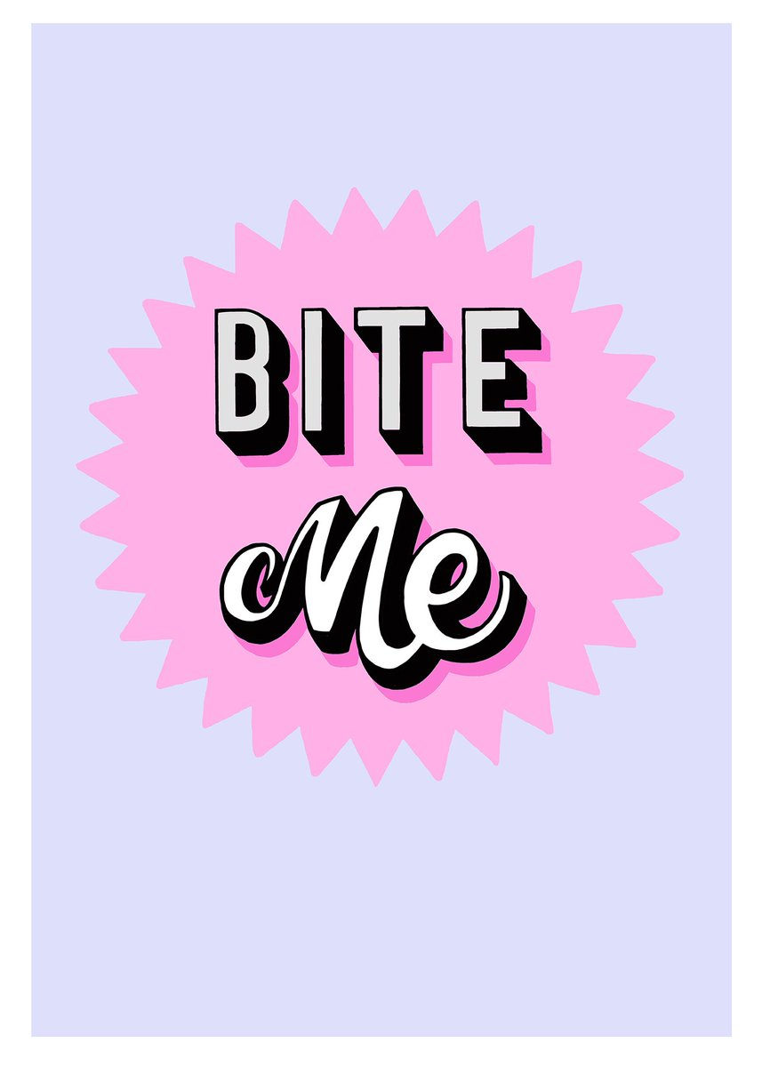 4f35b3817f63 bite me it can only be 10 things i hate about you by daisyemerson for  printclublondon