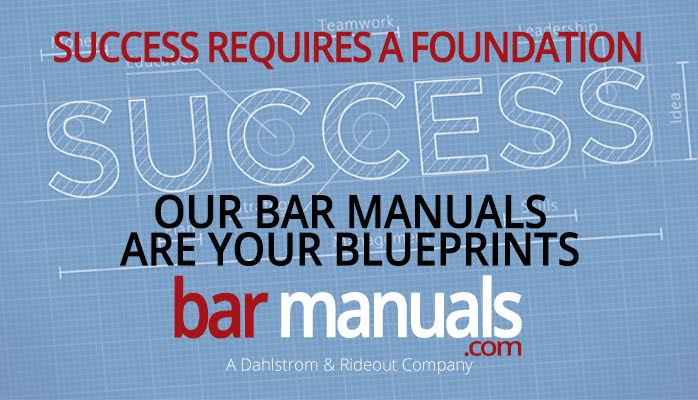Success in the Bar Business requires a Foundation. Our https://t.co/tx4LoRnMom are your Blueprints @Preston_Rideout https://t.co/iyjG96iXKG
