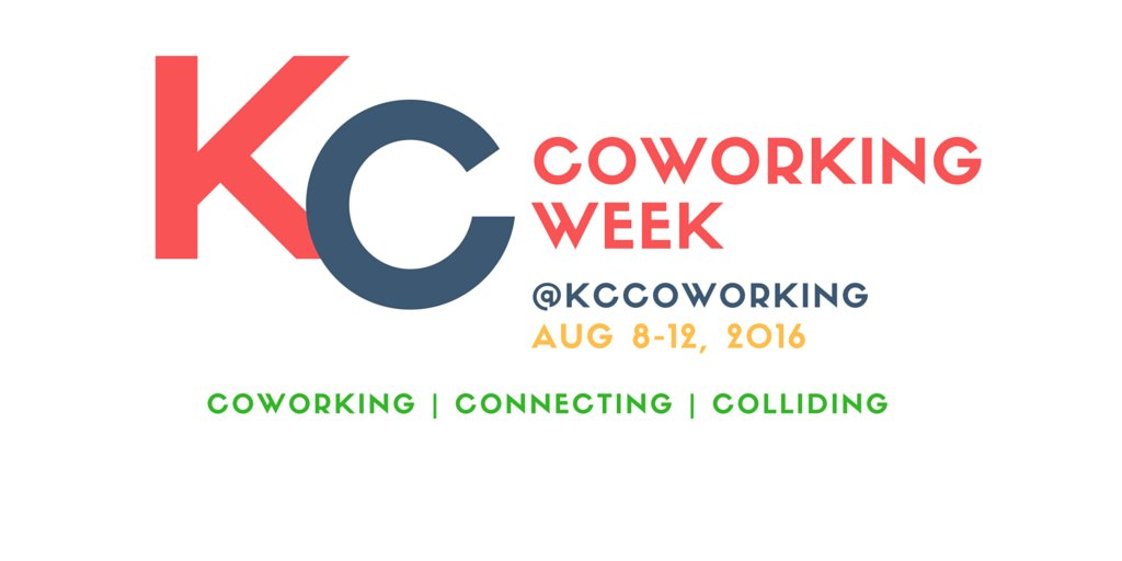 THIS week is KC #Coworking Week--meaning YOU can cowork for FREE @ any designated #KC space. https://t.co/CmmcHXlzc0 https://t.co/dmCSET3qrf