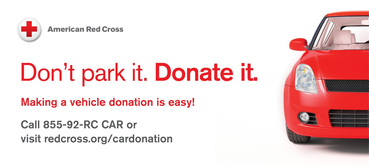 Red Cross Of Alaska On Twitter Don T Park It Donate It Https T