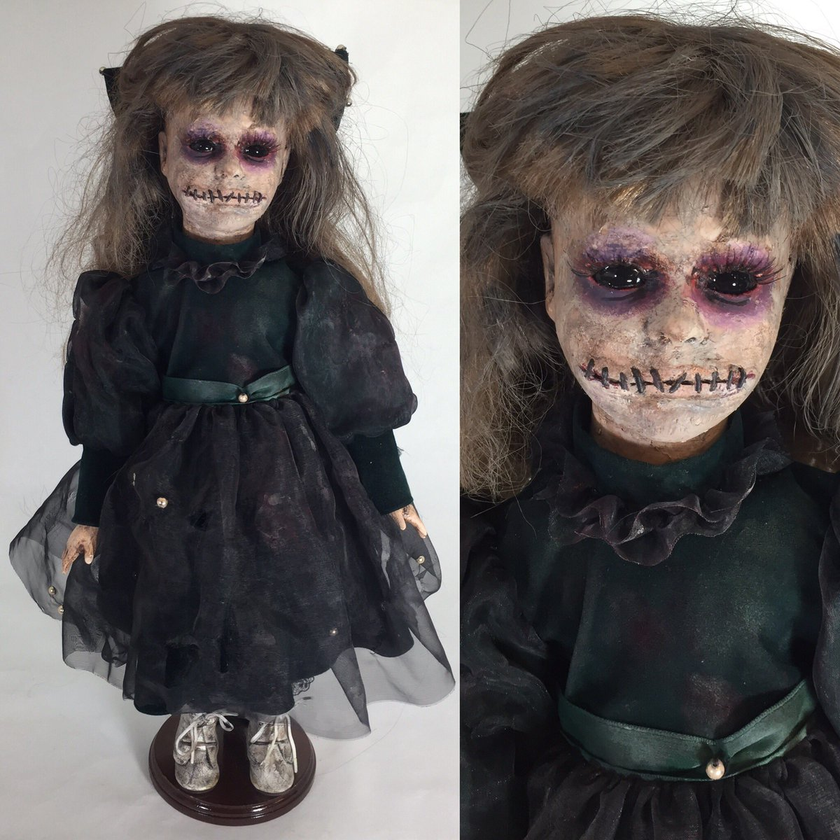 """ElsBeth Lair On Twitter: """"Another Creepy Doll Redo Of Old"""