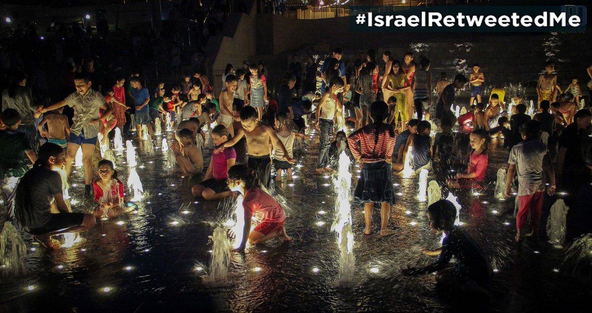 Many Jewish & Arab Israeli kids enjoy Jerusalem Teddy Fountains together #IsraelRetweetedMe  https://t.co/14MwCYOaD9 https://t.co/WKC8iPEhjC