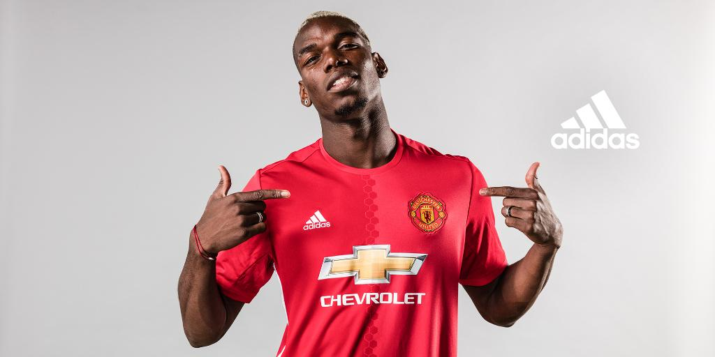 .@paulpogba is a Red. #FirstNeverFollows