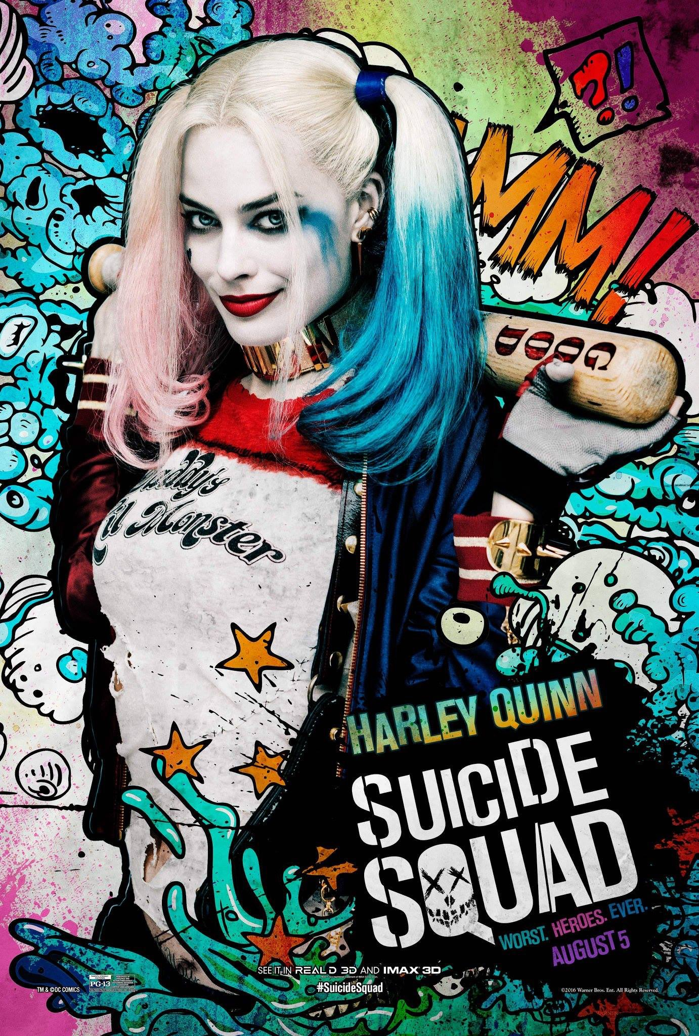 Anyone seen suicide squad yet? Critics an't been very kind but I'm sure I'll fink its RAD! https://t.co/BHMt1tzktX