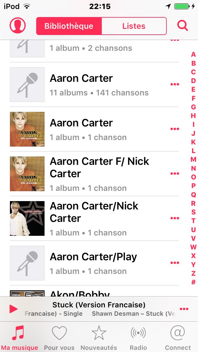 Aaroncarterfan Dating-Profil