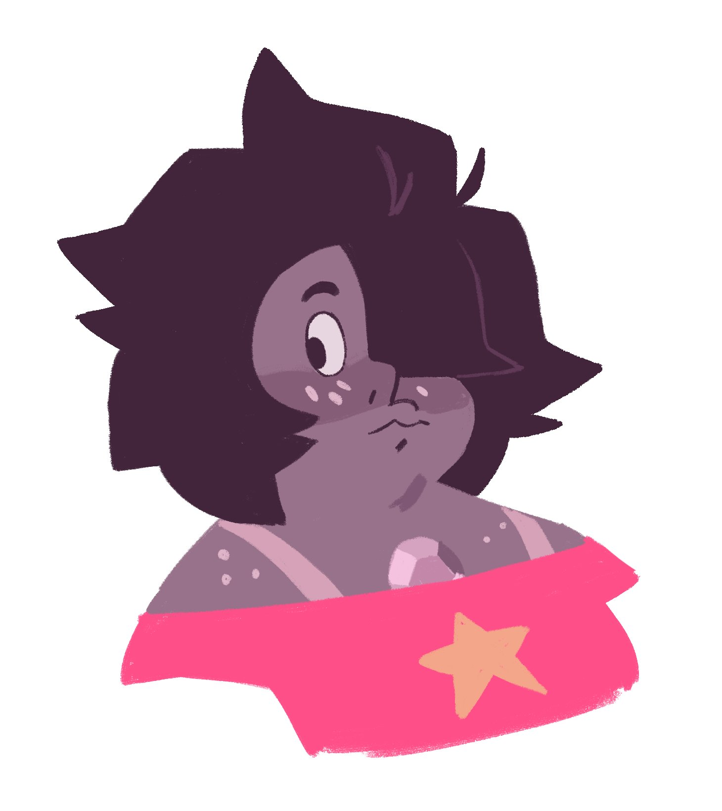 """su spoilers!  I'm not caught up on steven universe by any means but they're so cute I couldn't resist"""