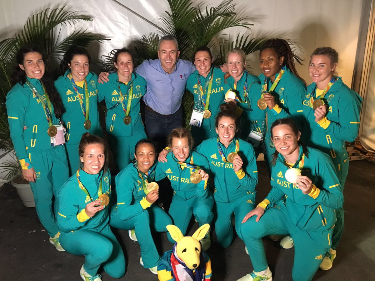 GOLD! Australia's Womens Rugby 7's Olympic Champs! Have had the pleasure of following them  from early on to this! https://t.co/nDjXPoTLB9