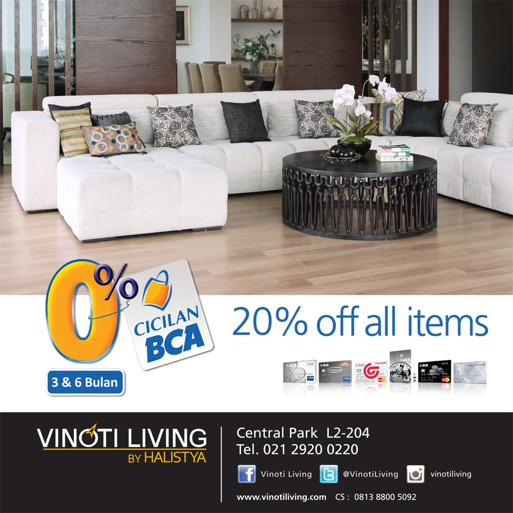 Central Park Mall On Twitter Enjoy Special Promo 20 Off At Vinoti
