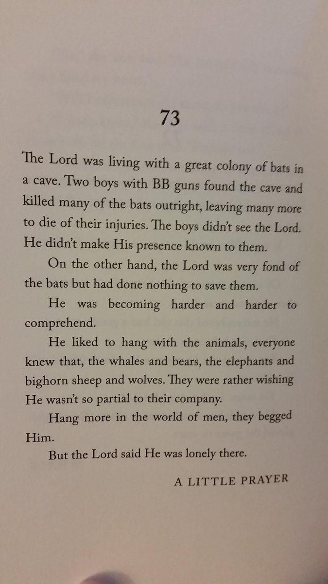 Who here recommended Joy Williams 99 Stories of God? It's amazing but you should've mentioned it'd break my heart. https://t.co/s7v4qzJUEV