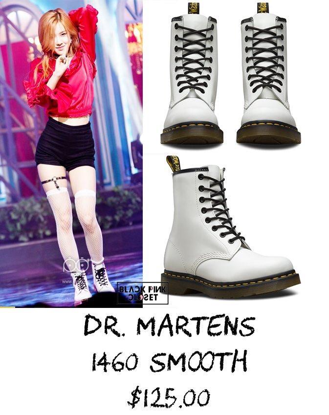 blackpink white boots