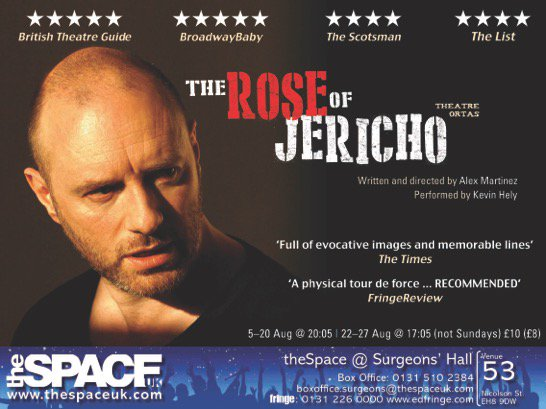 "RT @chessmartinez: Edinburgh, come see the The Rose Of Jericho! ""The show to see at Surgeon's Hall"" Scotsman https://t.co/pZYKeATyPB https:…"