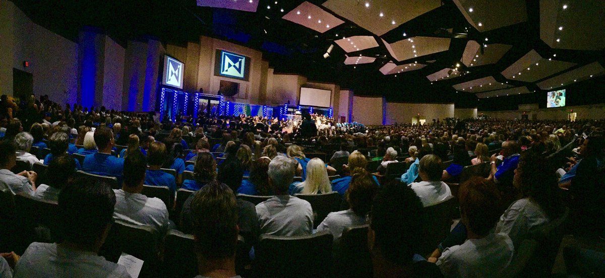 This roomful of angels is full of the best professionals in the kid business and they #BleedBlue. #NKCConvo16 https://t.co/HMGSsFlRdO
