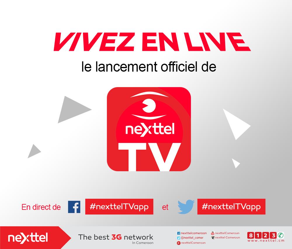 nexttel tv cameroun
