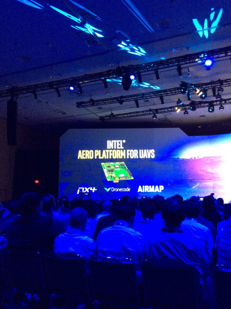 Intel investing in technology for drone market. #IDF16 https://t.co/QQR15BviBK