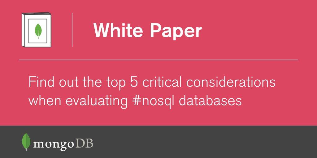 Selecting the Right Database: NoSQL vs. SQL