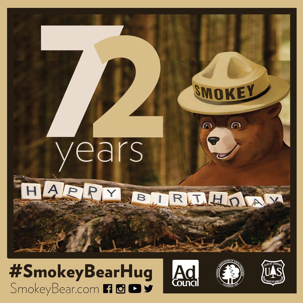 Happy Birthday @smokey_bear https://t.co/wgVDlZbx0I
