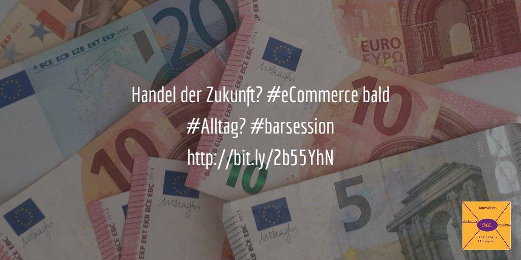 [#BARsession August] #eCommerce: Die Zukunft des Handelns - Der Handel der Zukunft